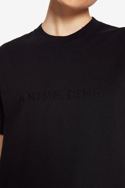 ANINE BING t-shirt Lili Tee A-08-2140-004 black-2