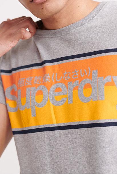 SUPERDRY t-shirt rayé