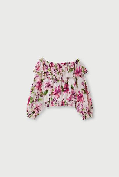 LIUJO  blouse à encolure