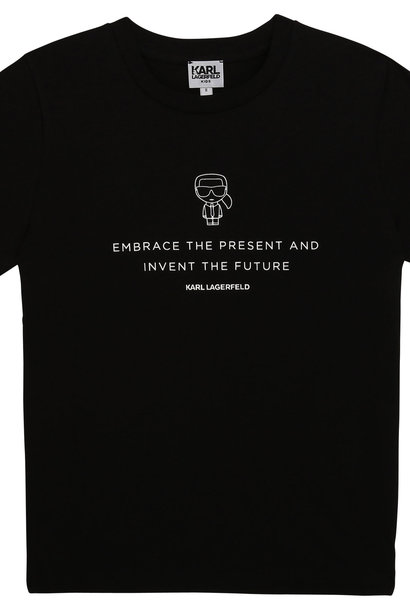 KARL LAGERFELD  KIDS  t-shirt à message