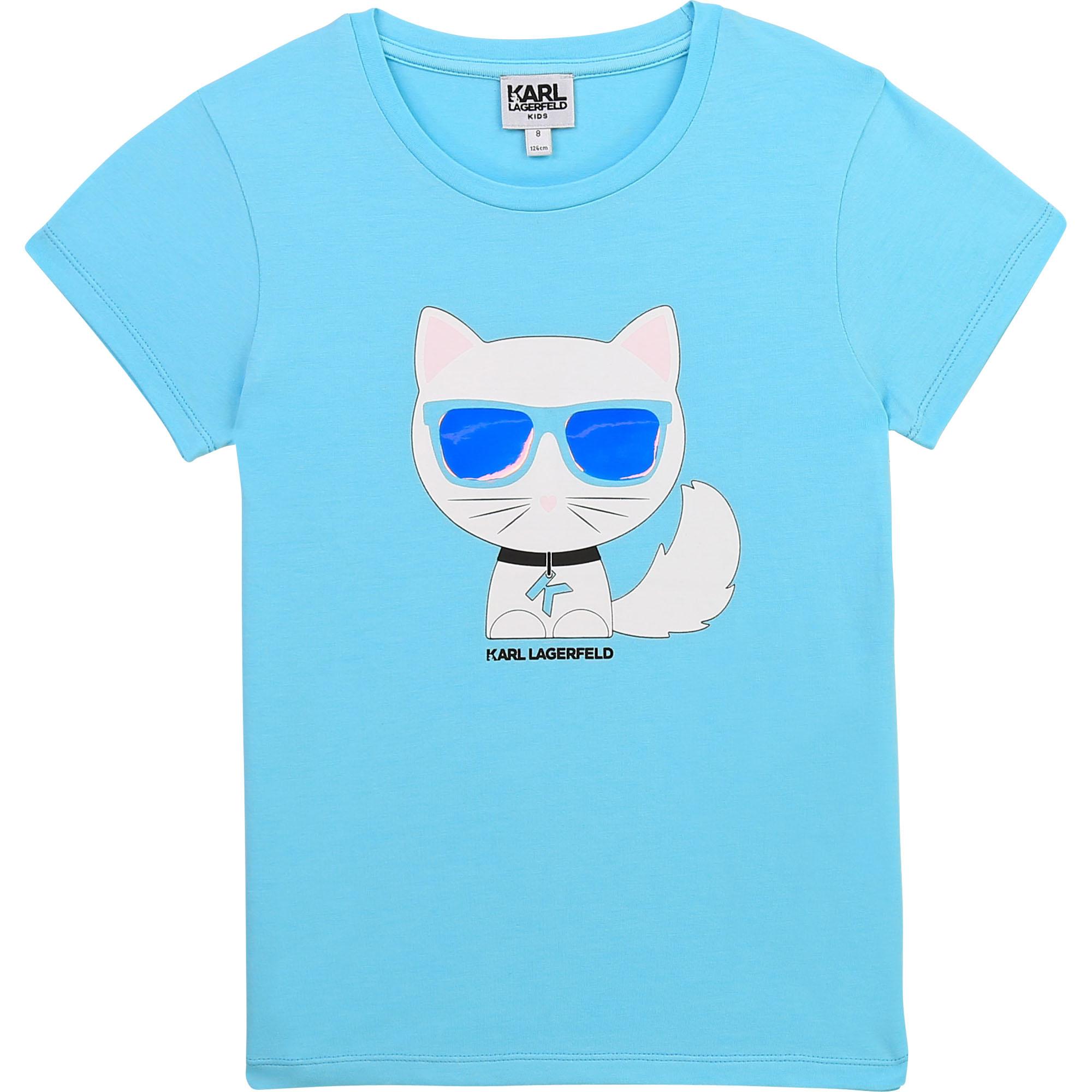 KARL LAGERFELD KIDS t-shirt fantaisie-1