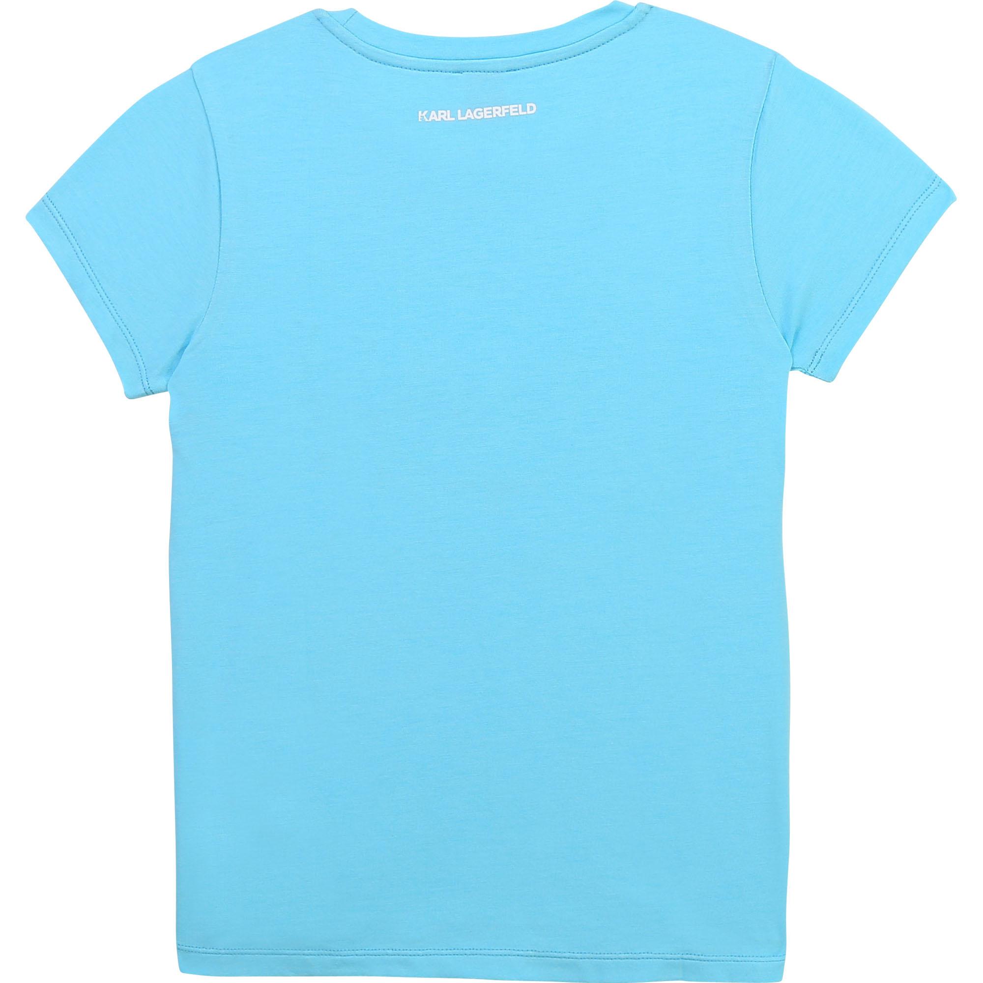 KARL LAGERFELD KIDS t-shirt fantaisie-2