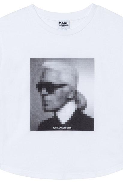 KARL LAGERFELD KIDS  t-shirt en jersey