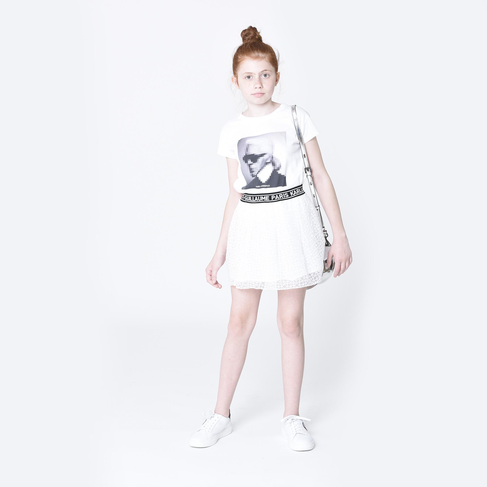 KARL LAGERFELD KIDS  t-shirt en jersey-2