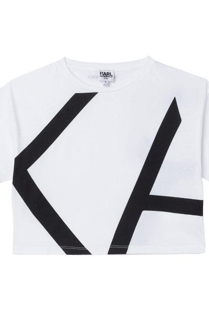 KARL LAGERFELD  KIDS  t-shirt modal