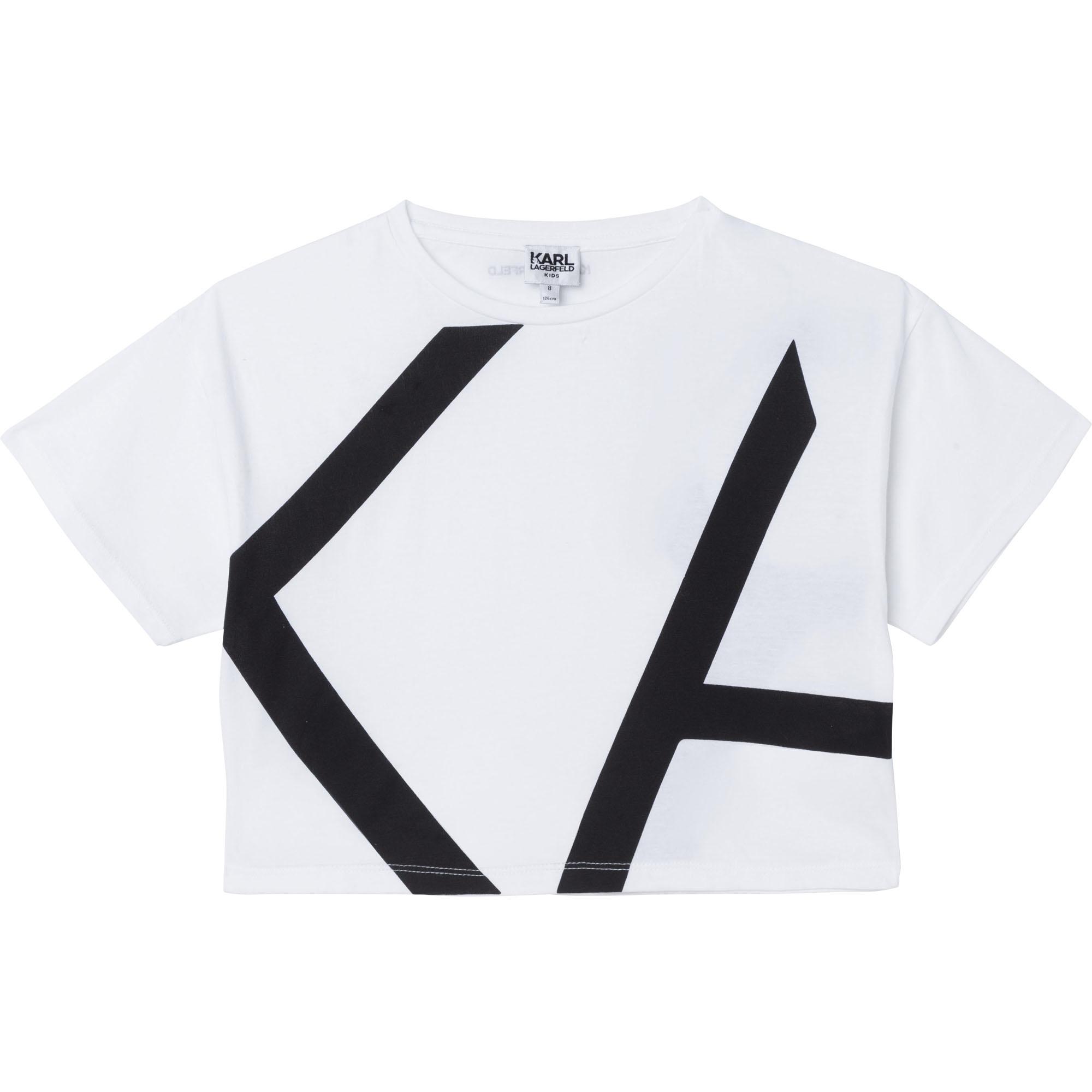 KARL LAGERFELD  KIDS  t-shirt modal-1