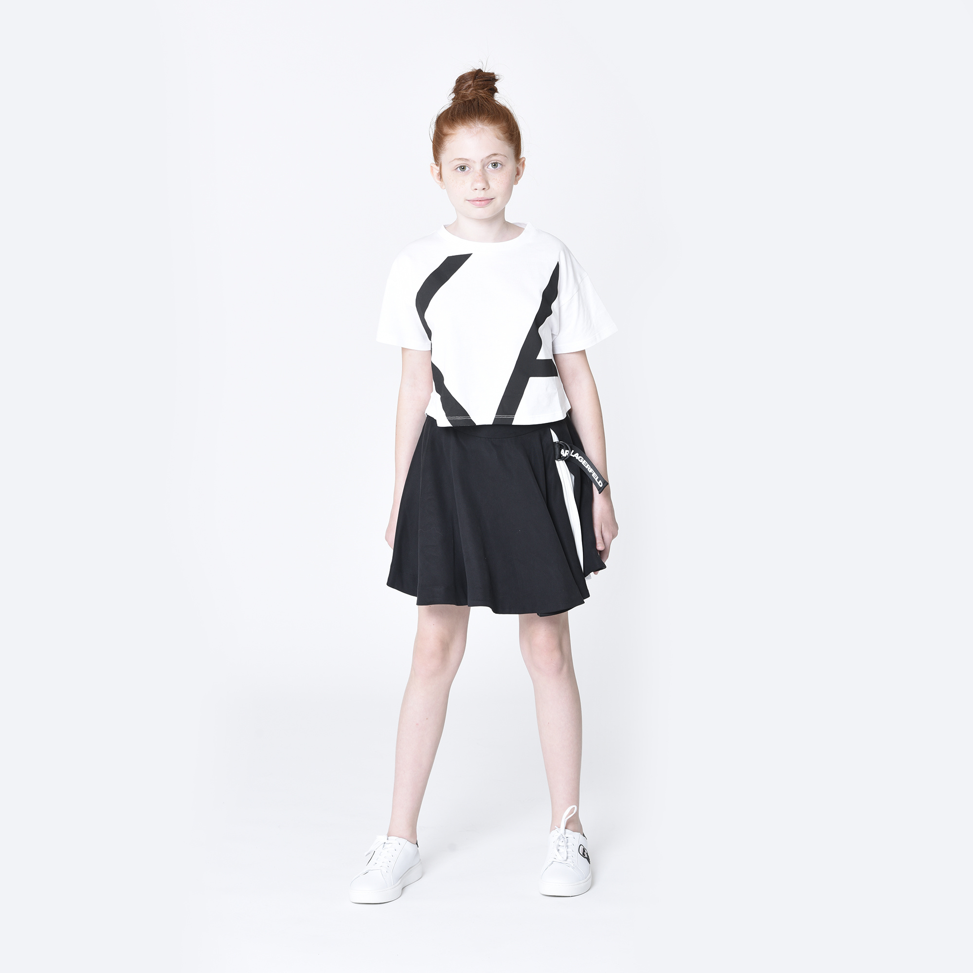 KARL LAGERFELD  KIDS  t-shirt modal-2
