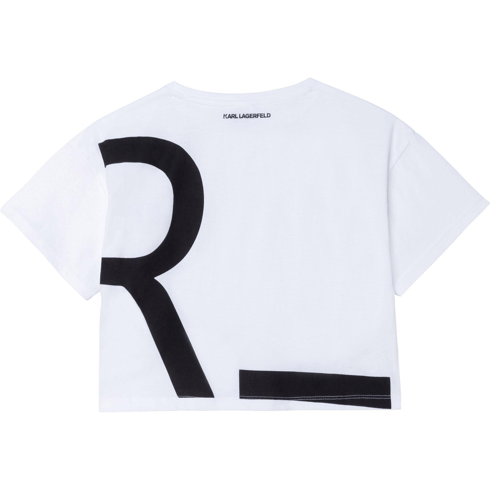 KARL LAGERFELD  KIDS  t-shirt modal-3