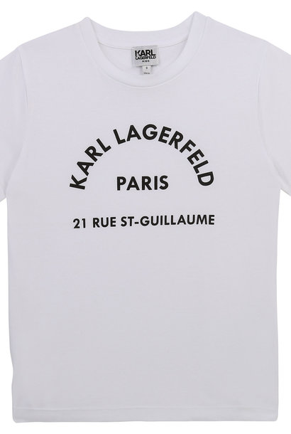 KARL LAGERFELD  KIDS  t-shirt ecriture