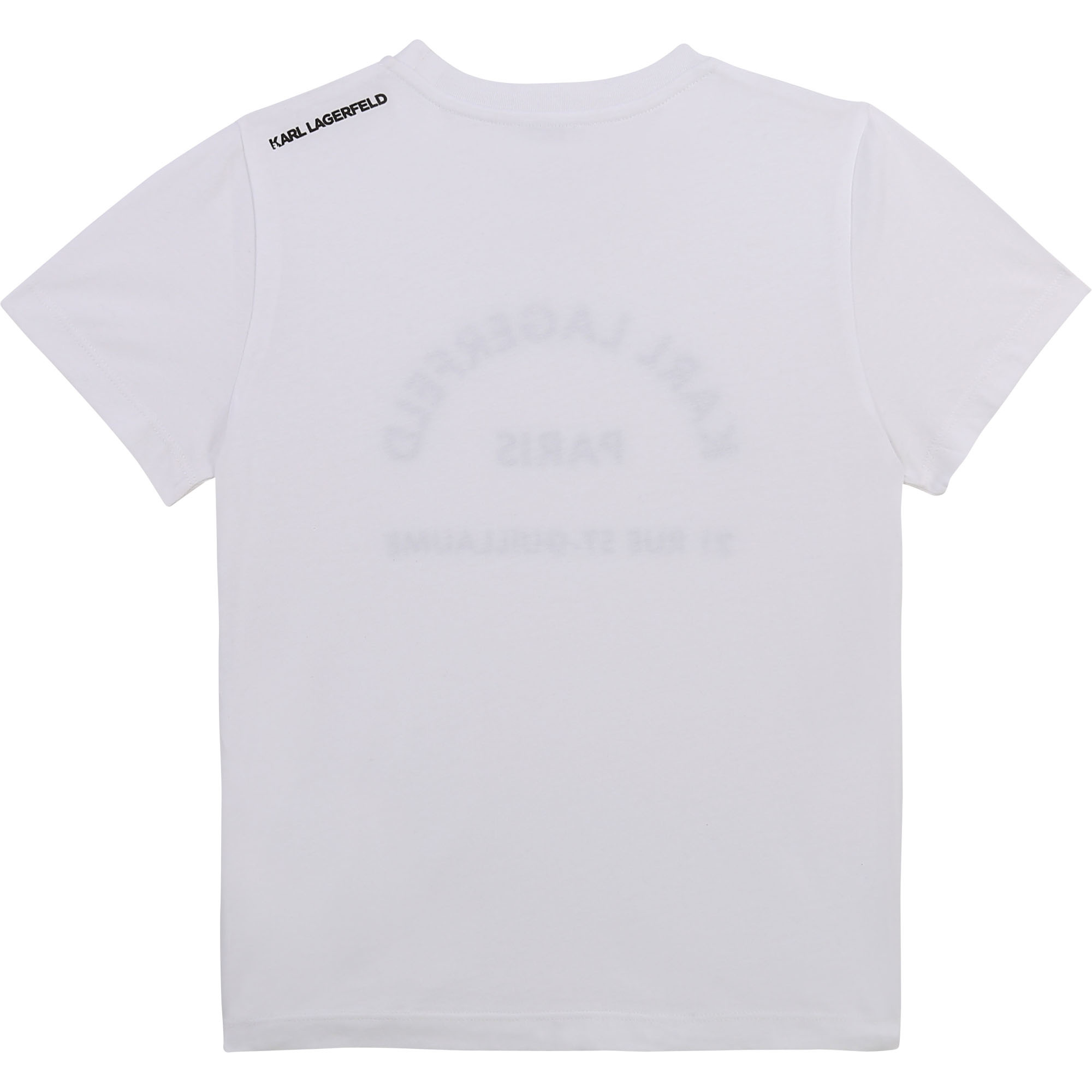 KARL LAGERFELD  KIDS  t-shirt ecriture-2