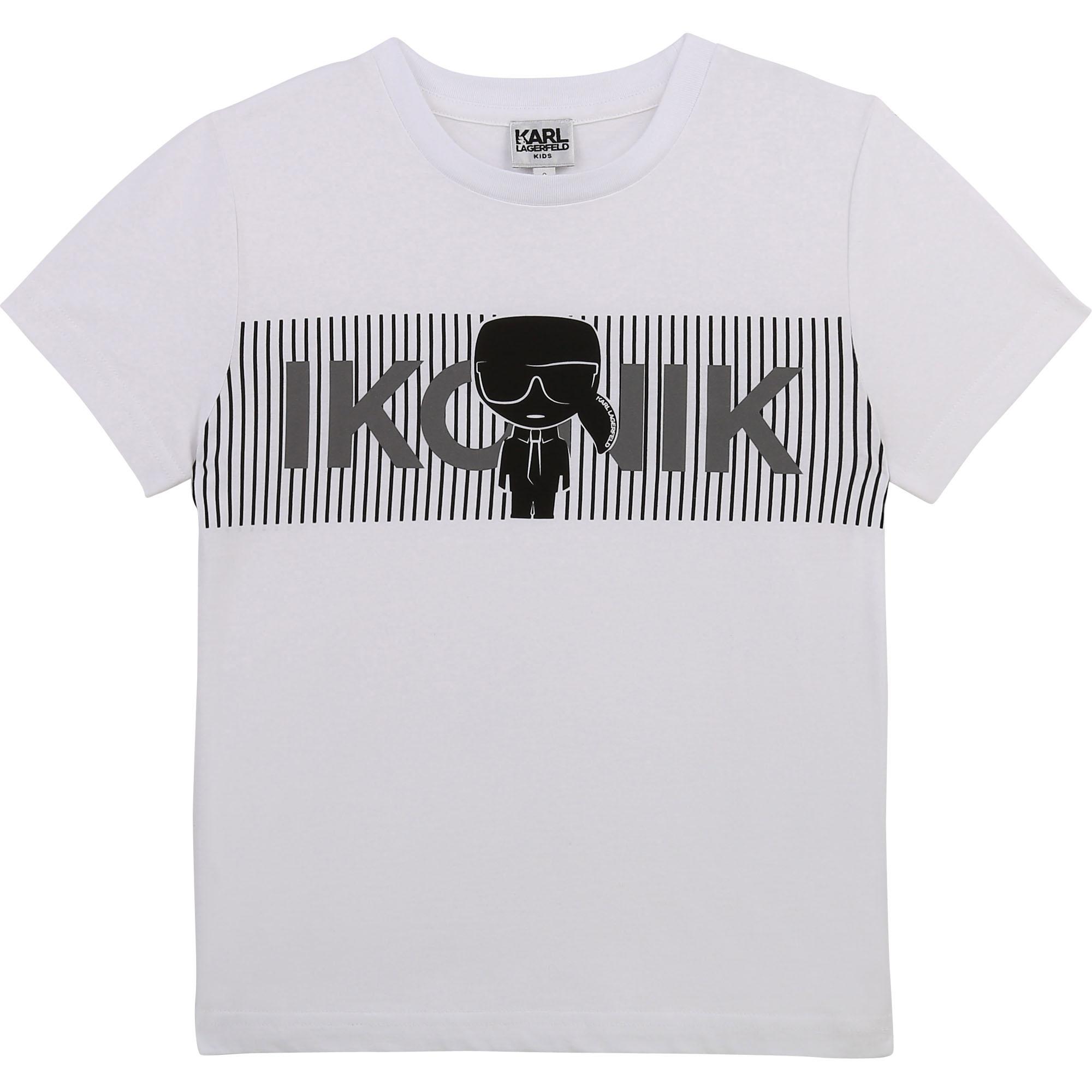 KARL LAGERFELD  KIDS t-shirt imprimé logo-1