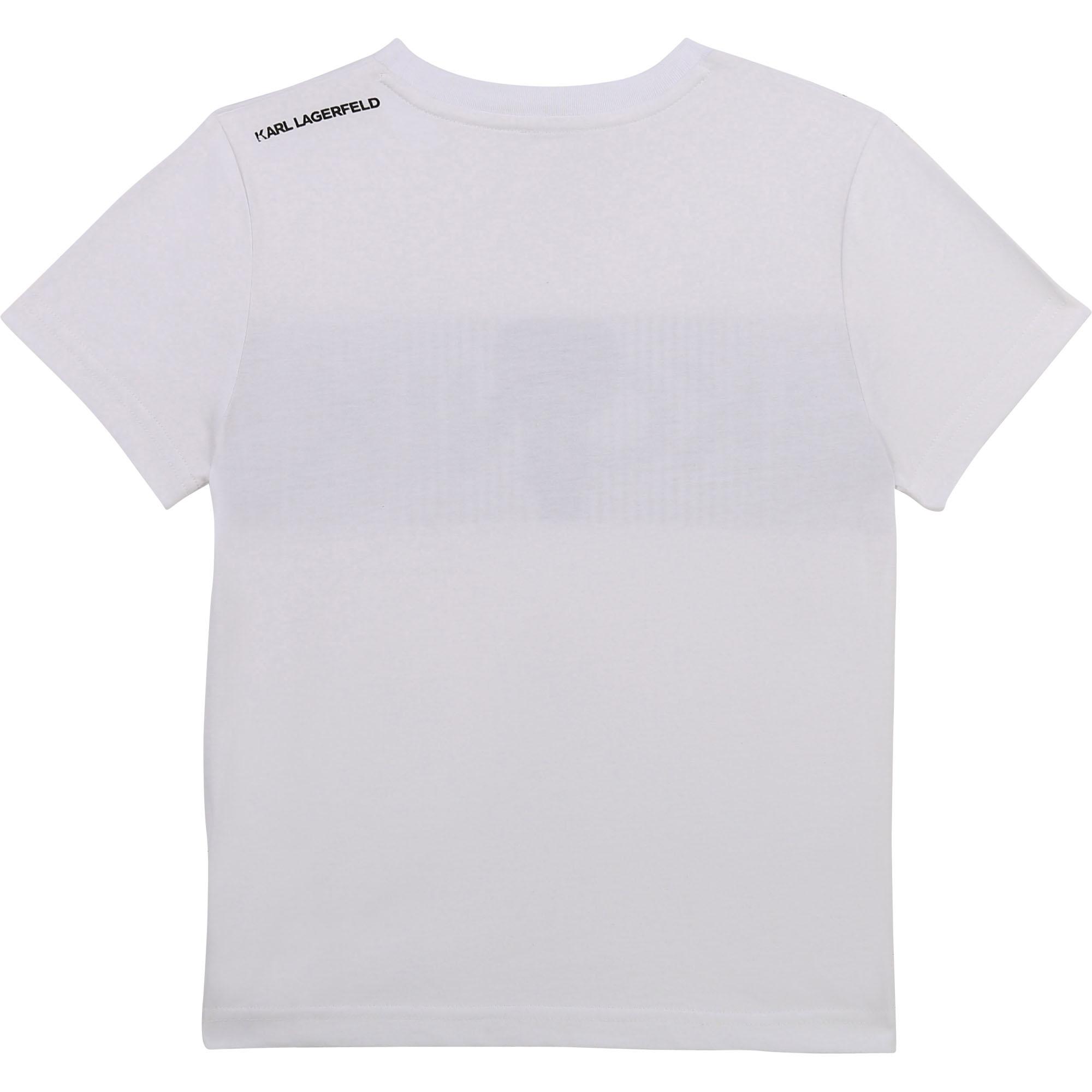 KARL LAGERFELD  KIDS t-shirt imprimé logo-2