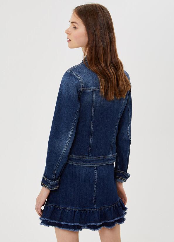 LIUJO Veste en jean avec boutons bijoux-2