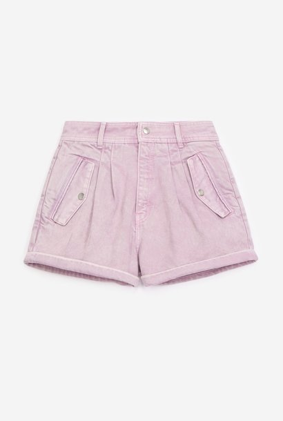 THE KOOPLES short violet jean à poches
