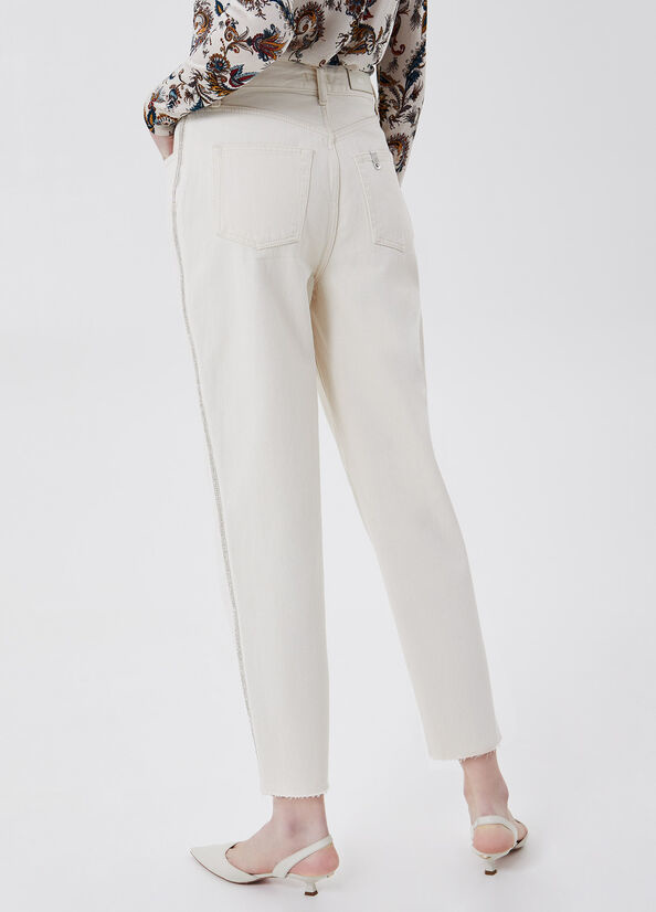 LIUJO Pantalon chino taille haute-2