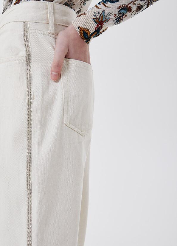 LIUJO Pantalon chino taille haute-3