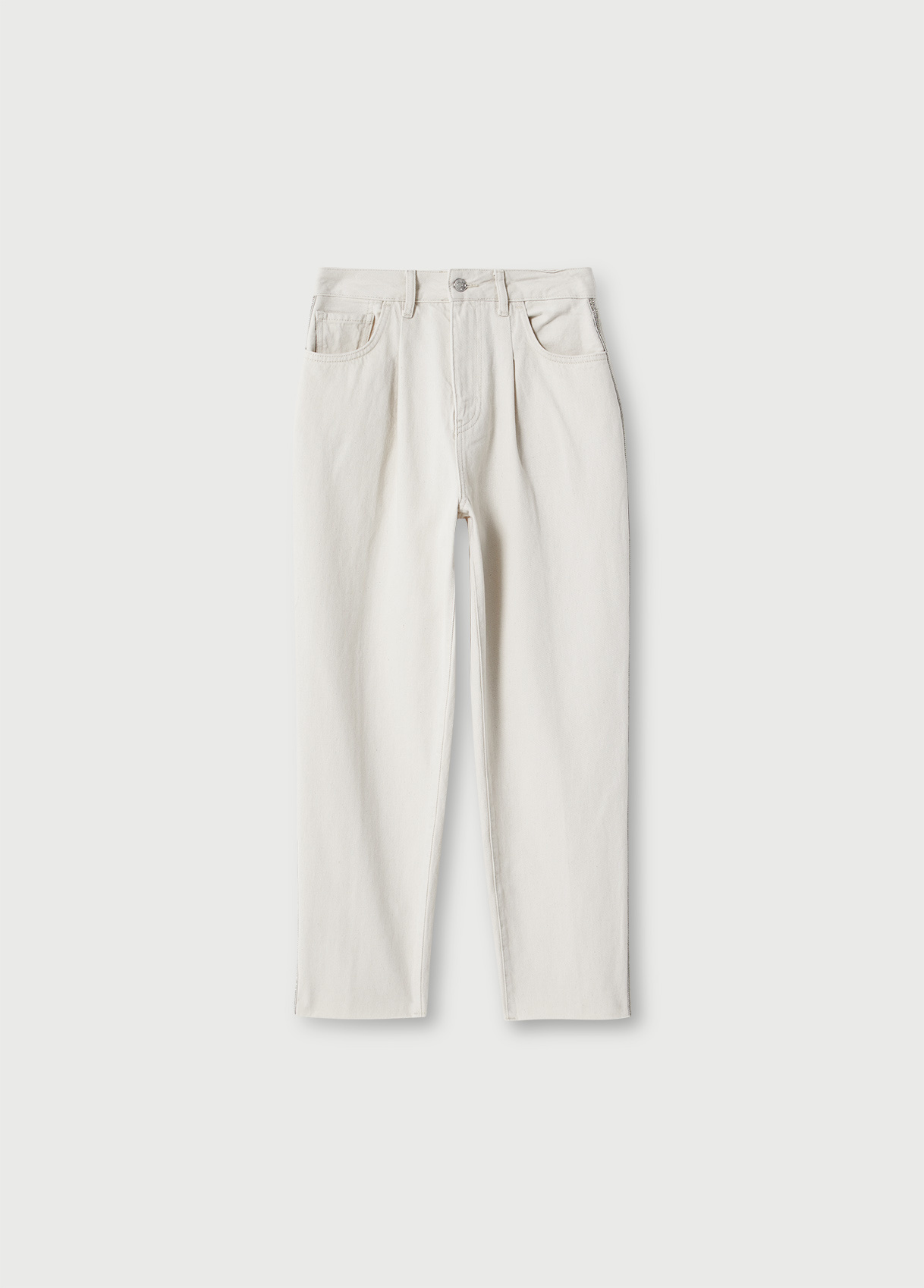 LIUJO Pantalon chino taille haute-5