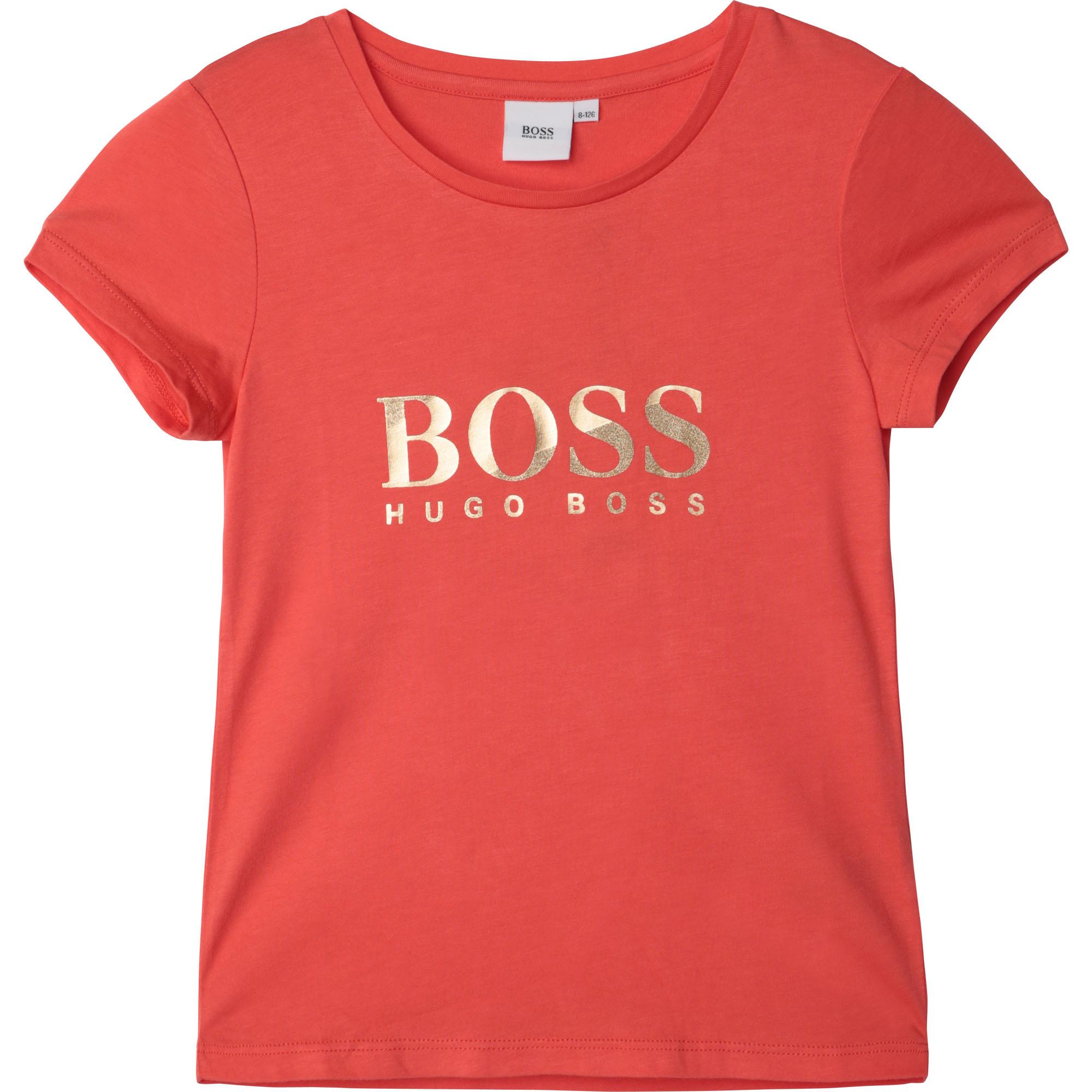 BOSS t-shirt en coton-3