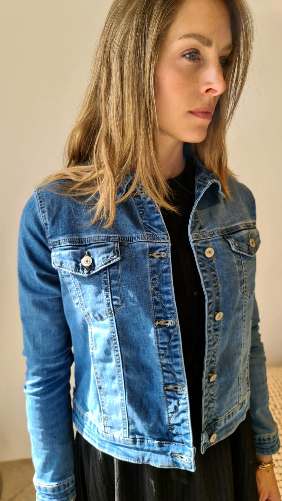 VALENCE veste bleu-1