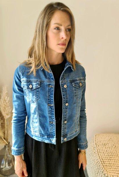 VALENCE veste bleue