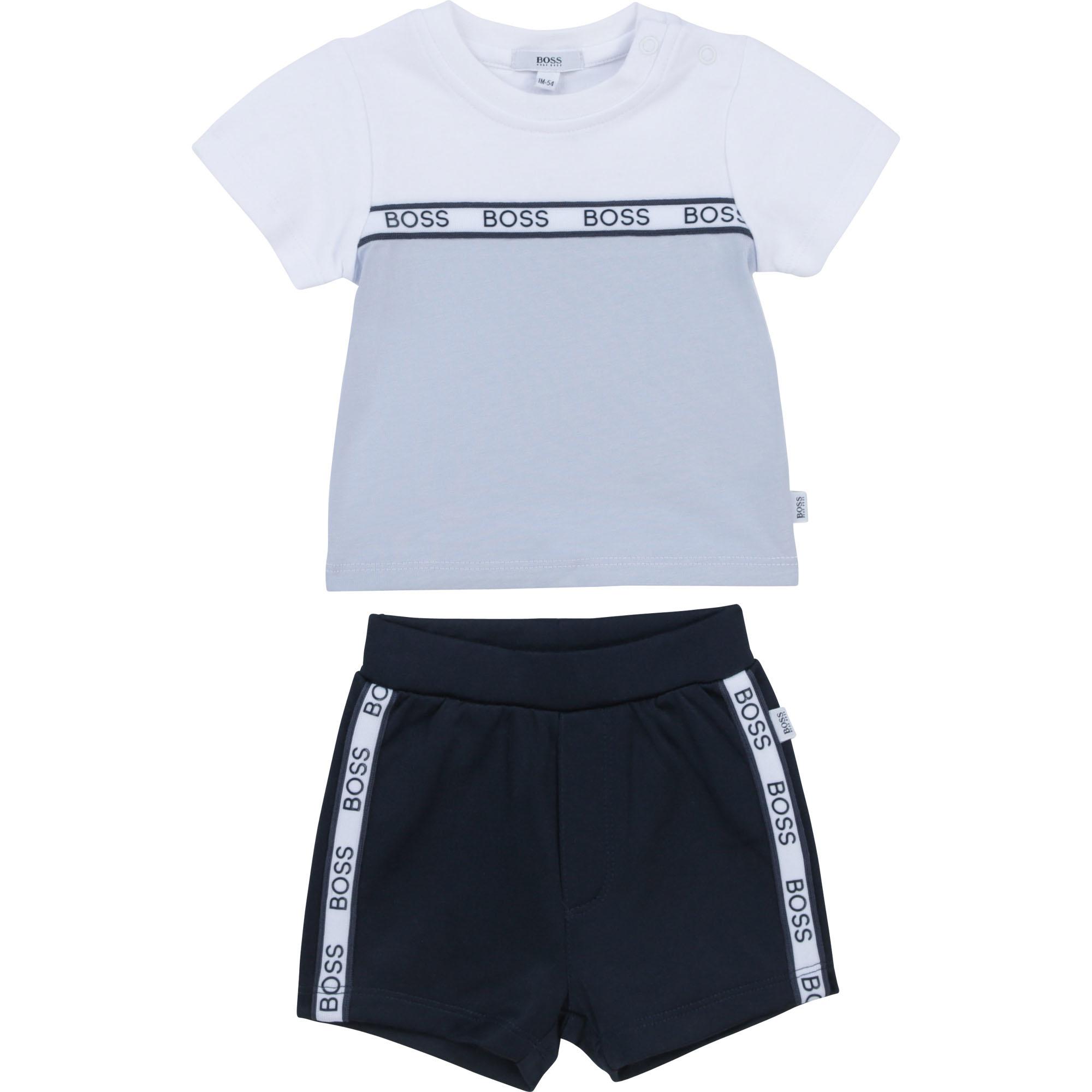 BOSS ensemble t-shirt et bermuda-1