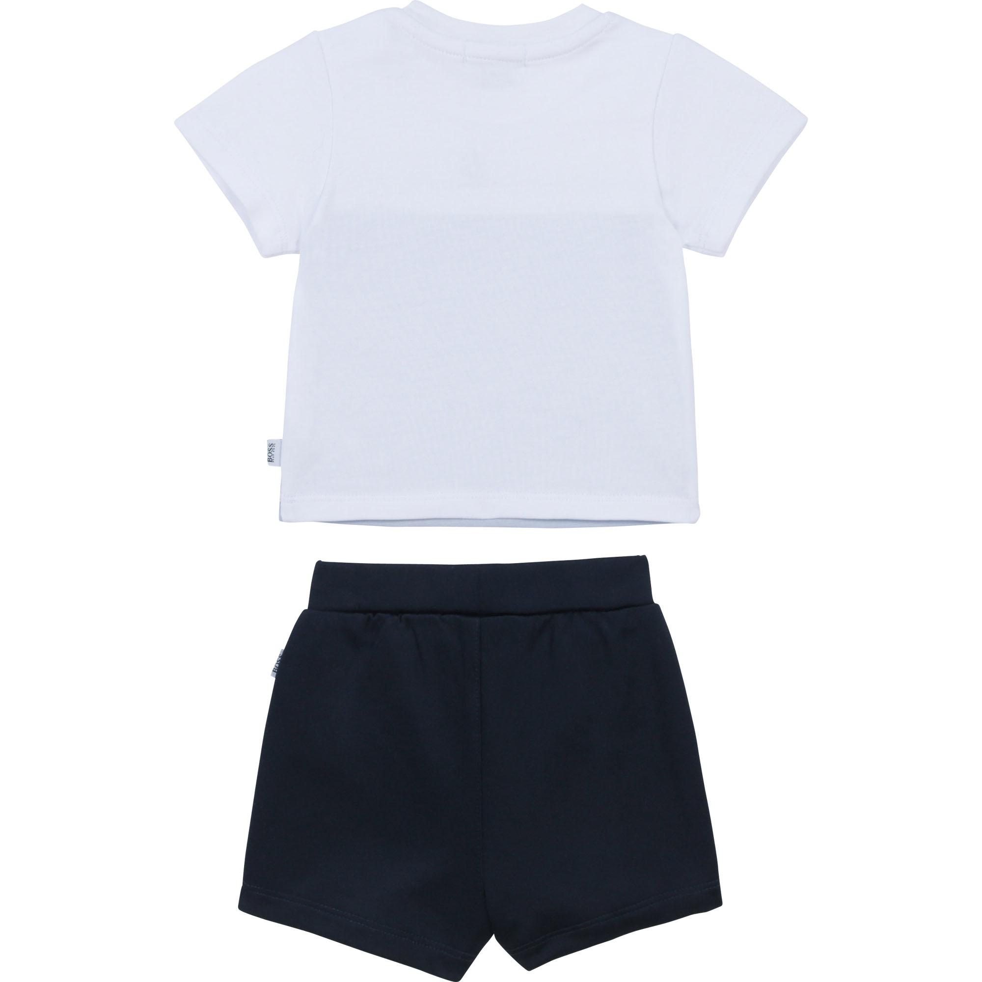 BOSS ensemble t-shirt et bermuda-2