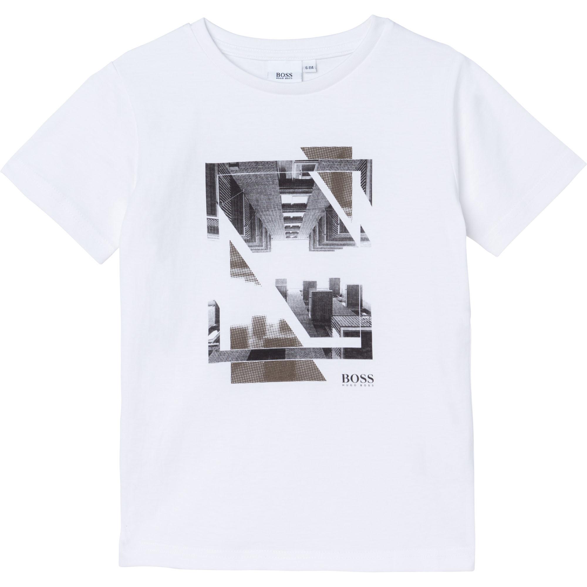 BOSS  t-shirt avec dessin-1