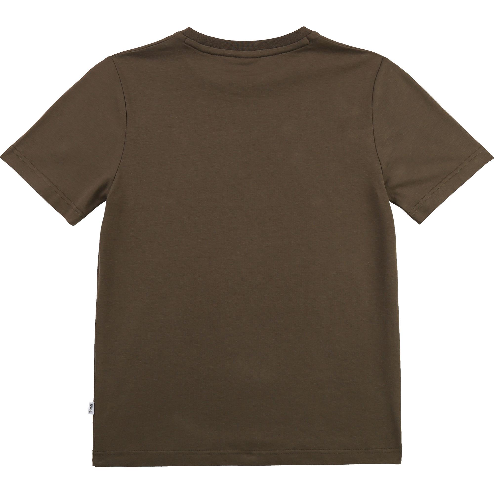 BOSS  t-shirt avec dessin et logo-2