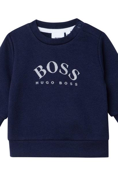 BOSS sweatshirt en molleton