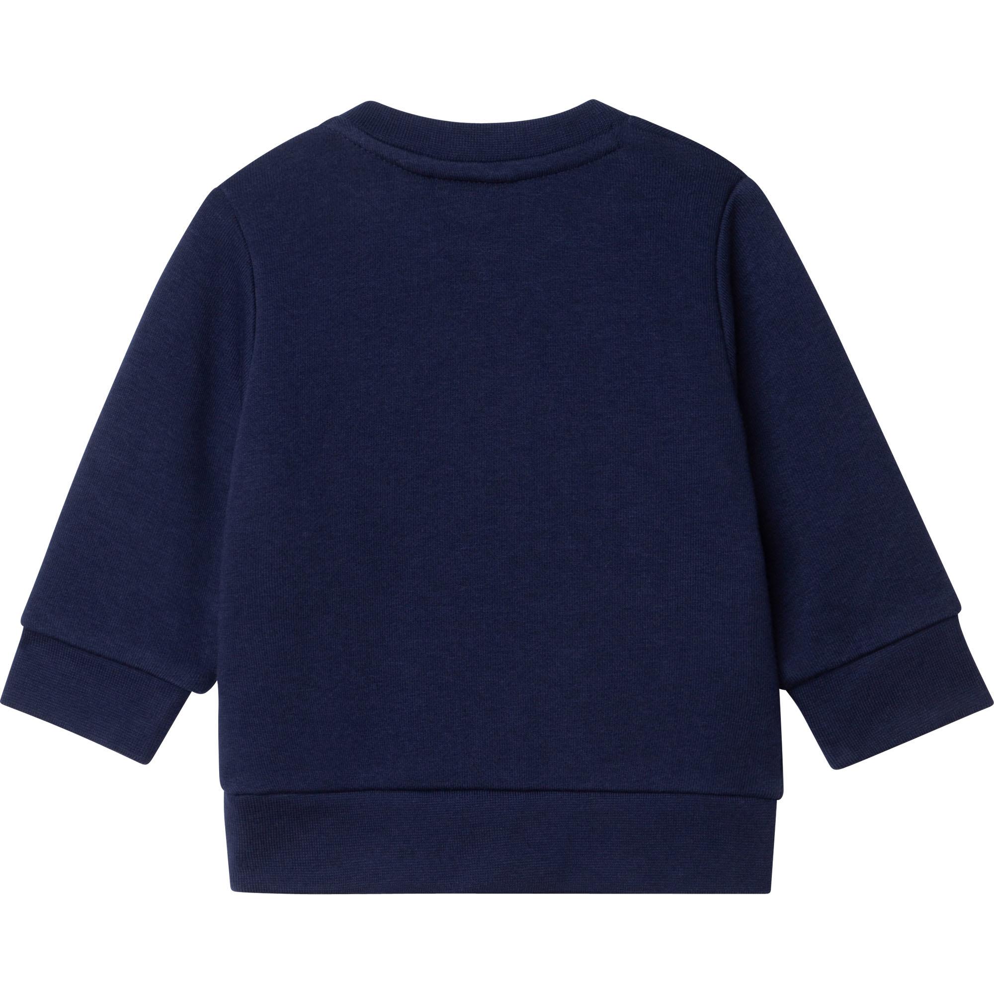 BOSS sweatshirt en molleton-2