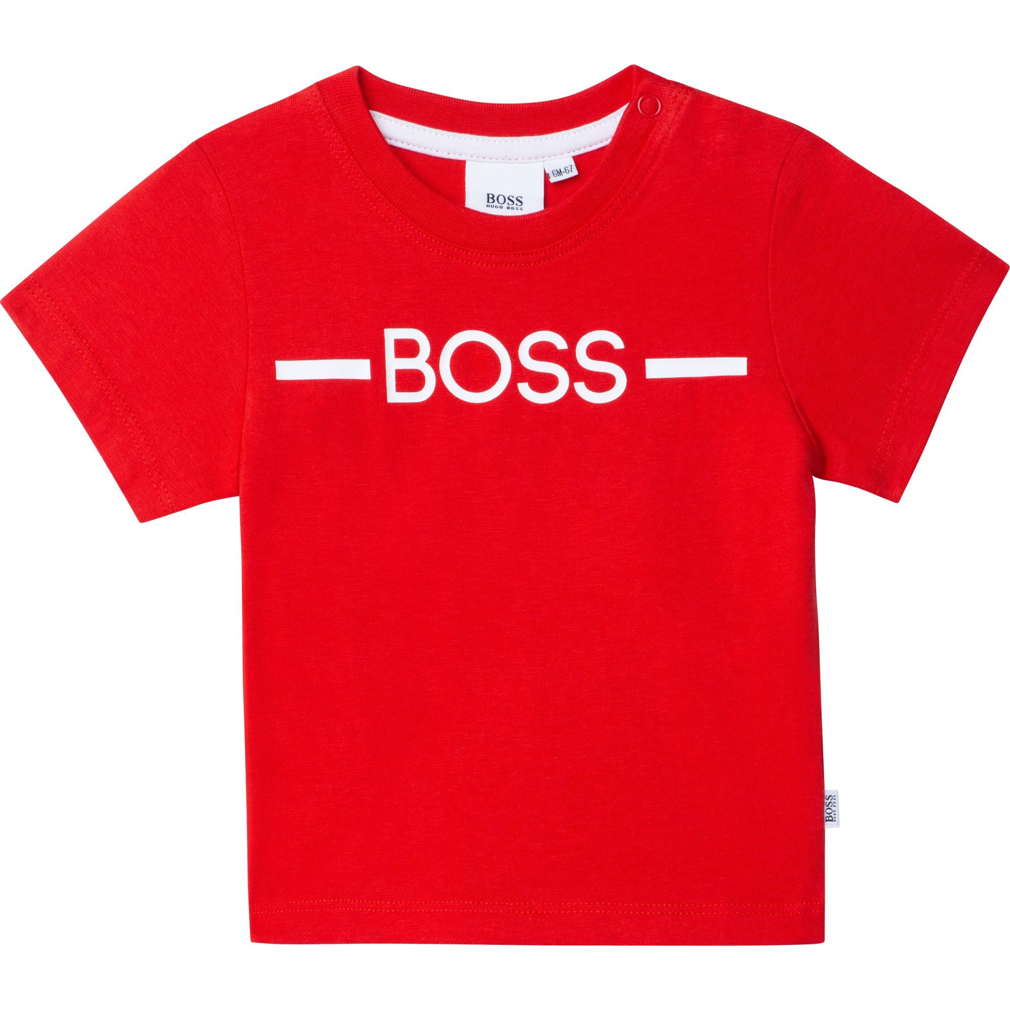 BOSS t-shirt avec logo-1