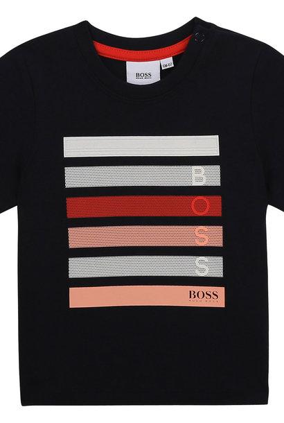 BOSS  t-shirt avec grosses lignes