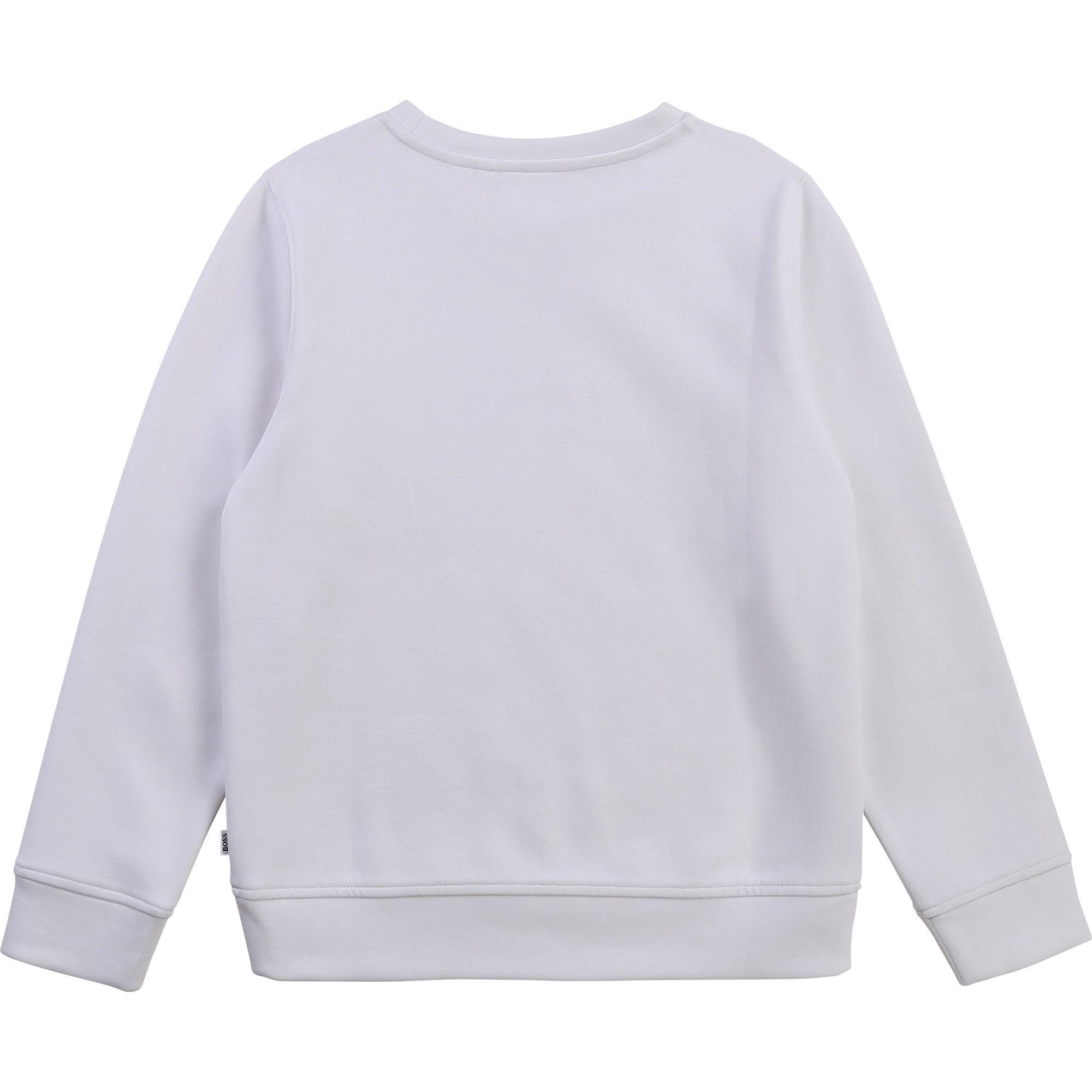 BOSS sweat shirt en molleton-2