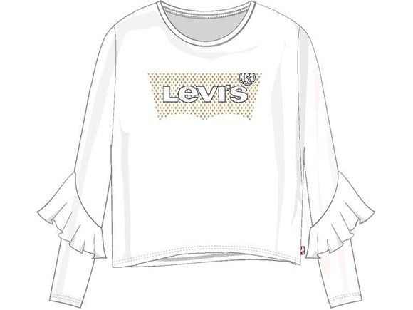 LEVIS - LVG RUFFLE TEE SHIRT-2