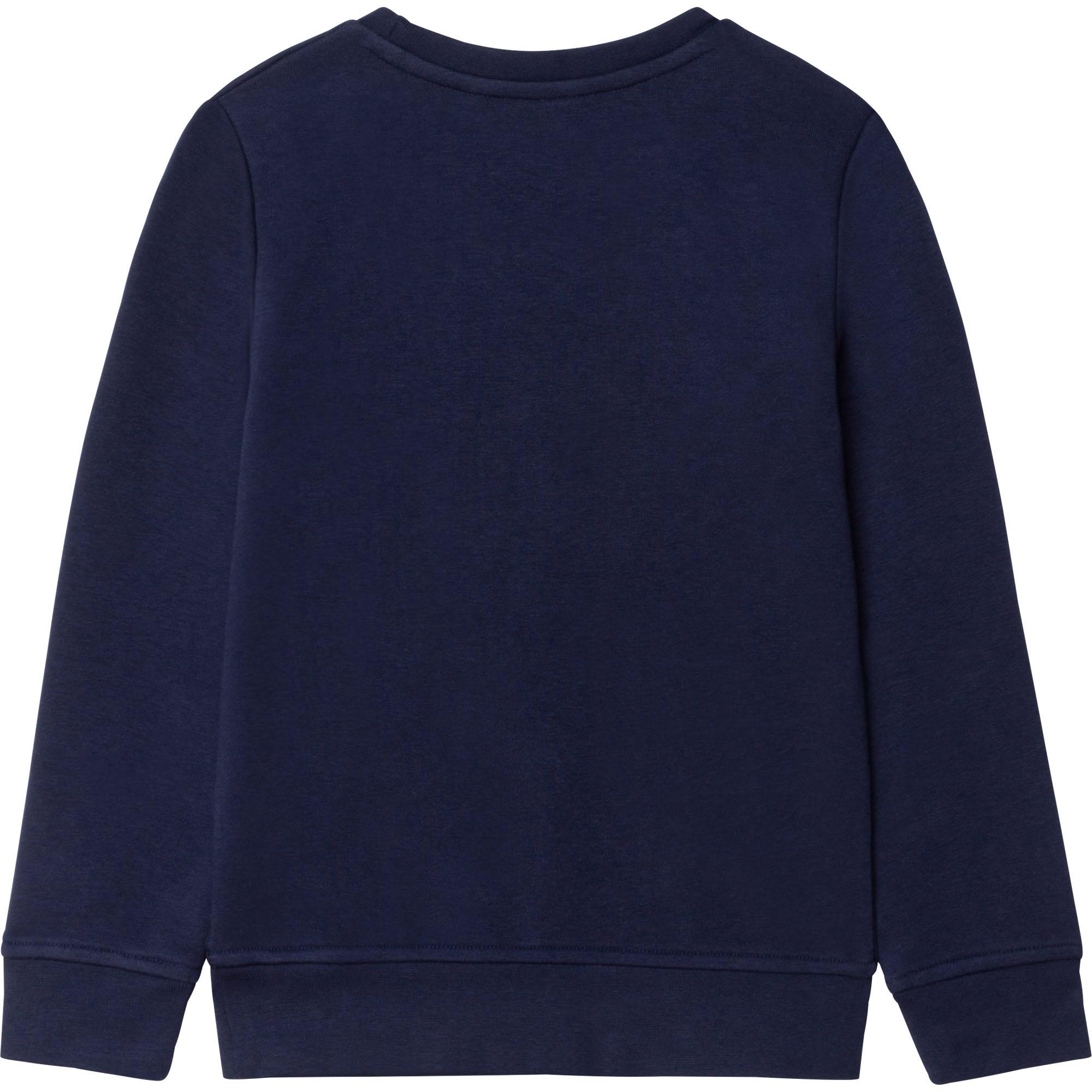 BOSS sweat shirt en molleton avec logo-2