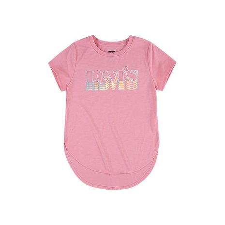 LEVIS - LVG HIGH LOW GRAPHIC TEE SHIRT-1