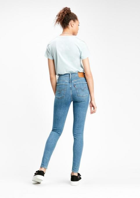 LEVIS Mile High Super Skinny in Better Worn In-3