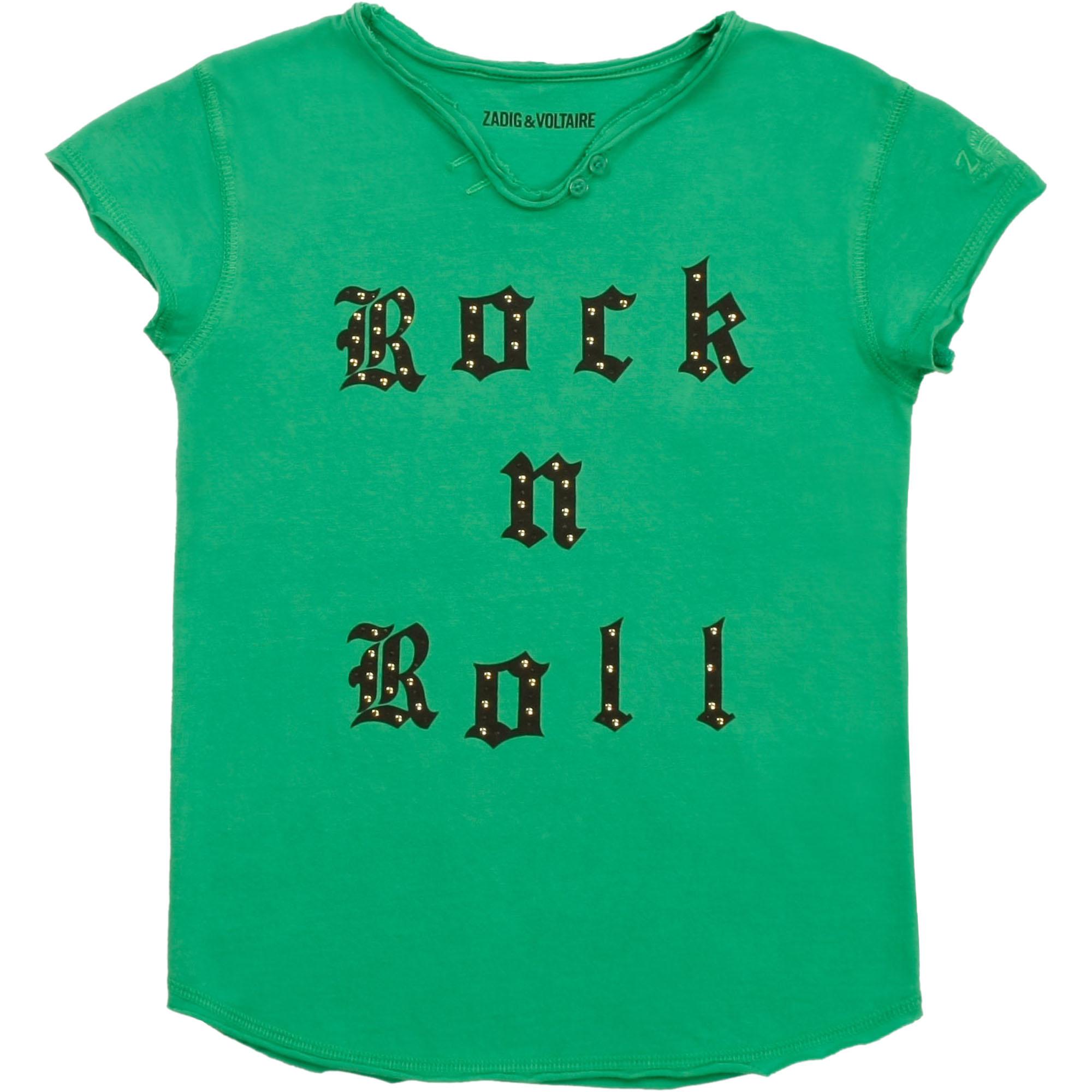 ZADIG&VOLTAIRE t-shirt imprimé avec broderie-1