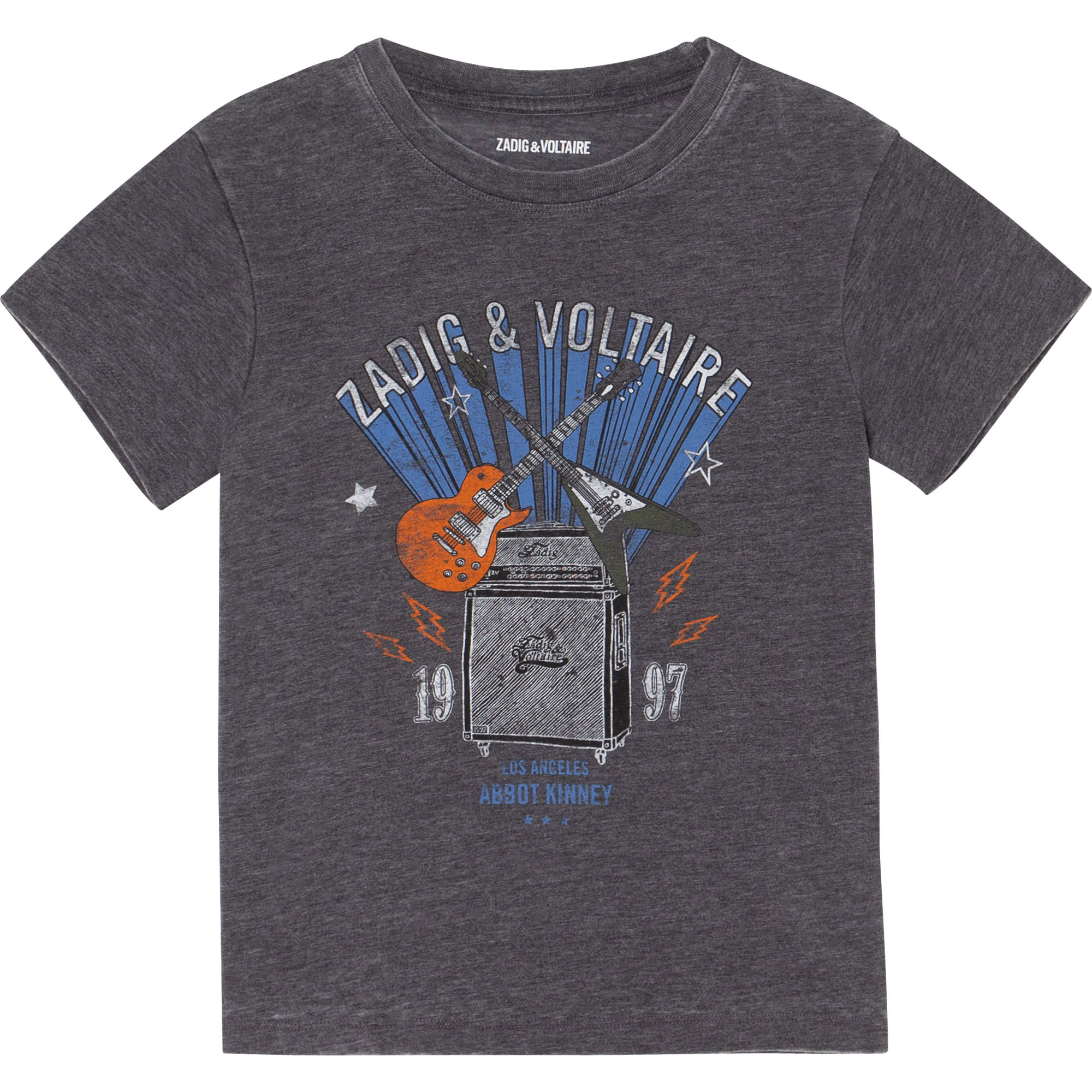 ZADIG&VOLTAIRE t-shirt jersey manches courtes-1