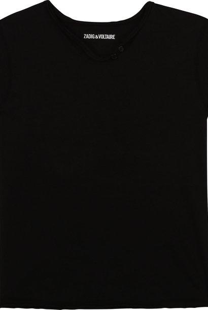 ZADIG&VOLTAIRE t-shirt manches courtes à logo