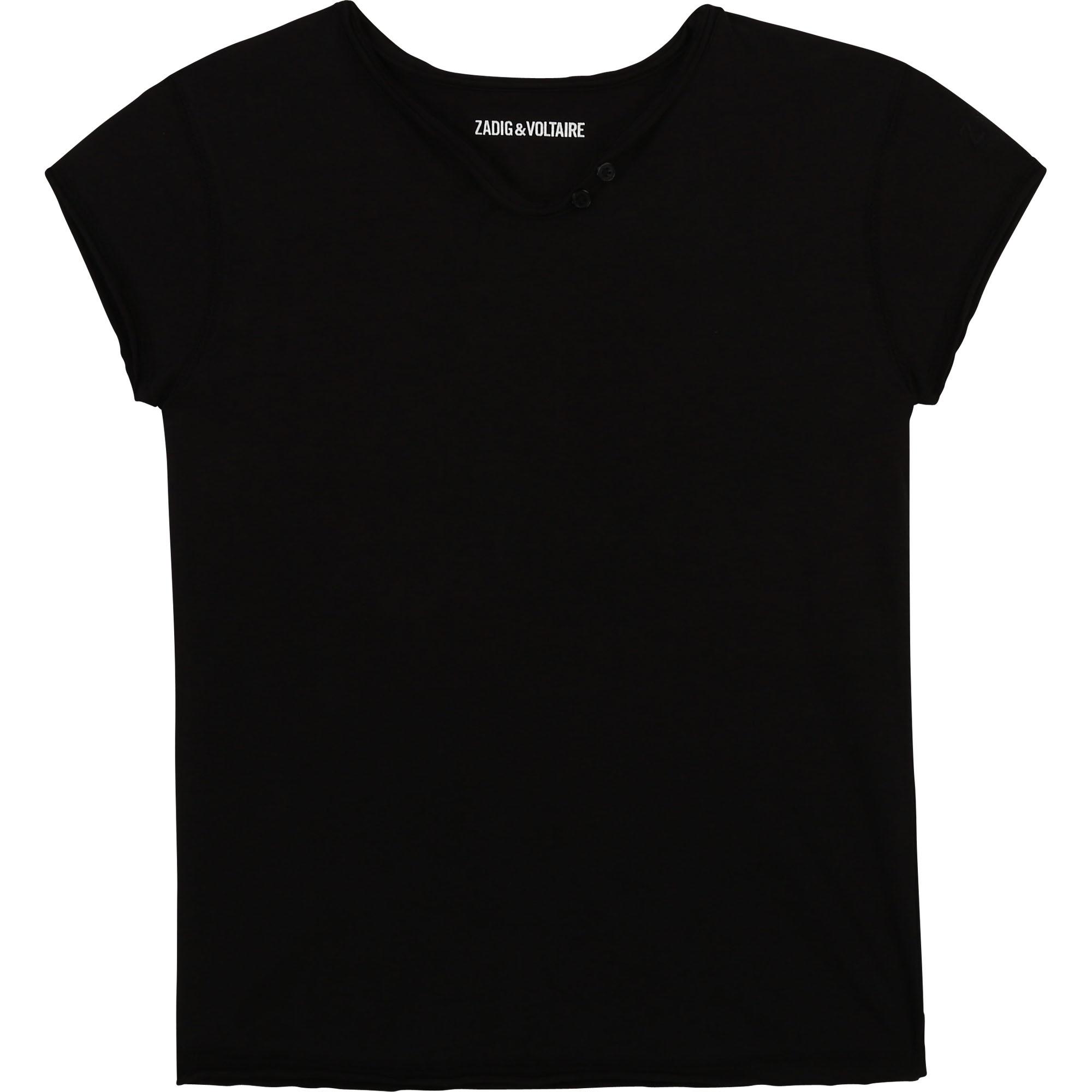 ZADIG&VOLTAIRE t-shirt manches courtes à logo-1