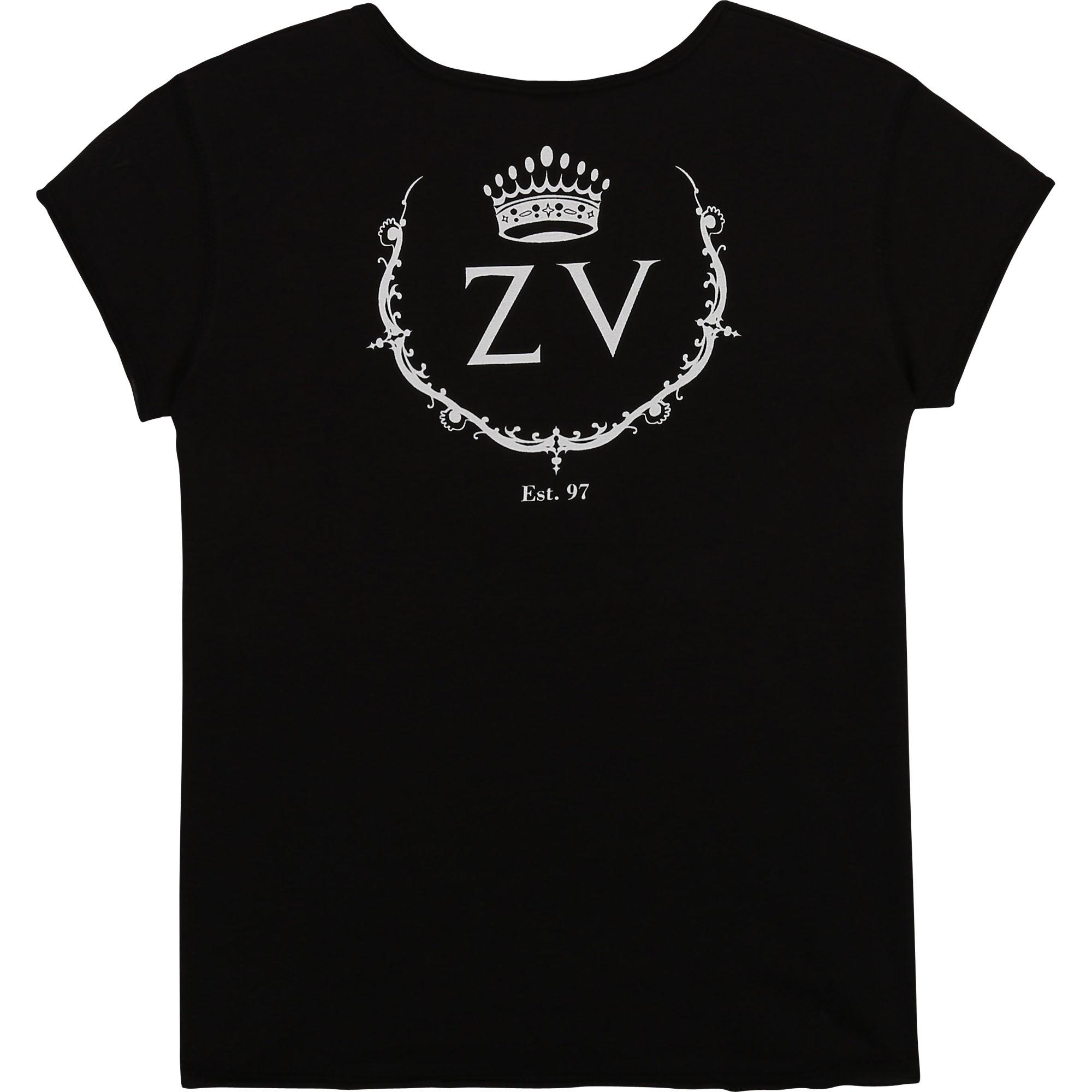 ZADIG&VOLTAIRE t-shirt manches courtes à logo-2