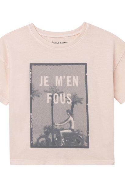 ZADIG&VOLTAIRE t-shirt manches courtes