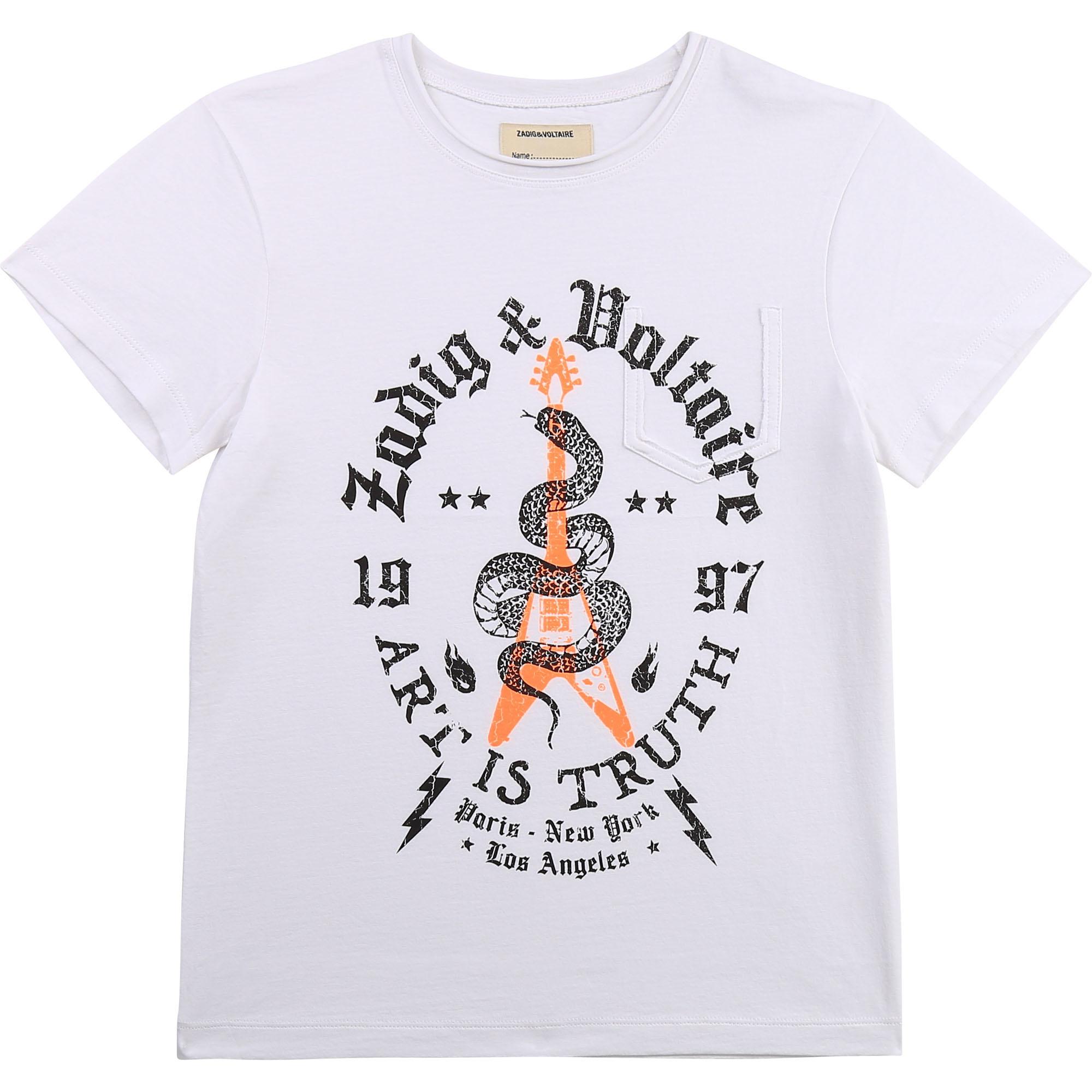 ZADIG&VOLTAIRE t-shirt en jersey de coton-1