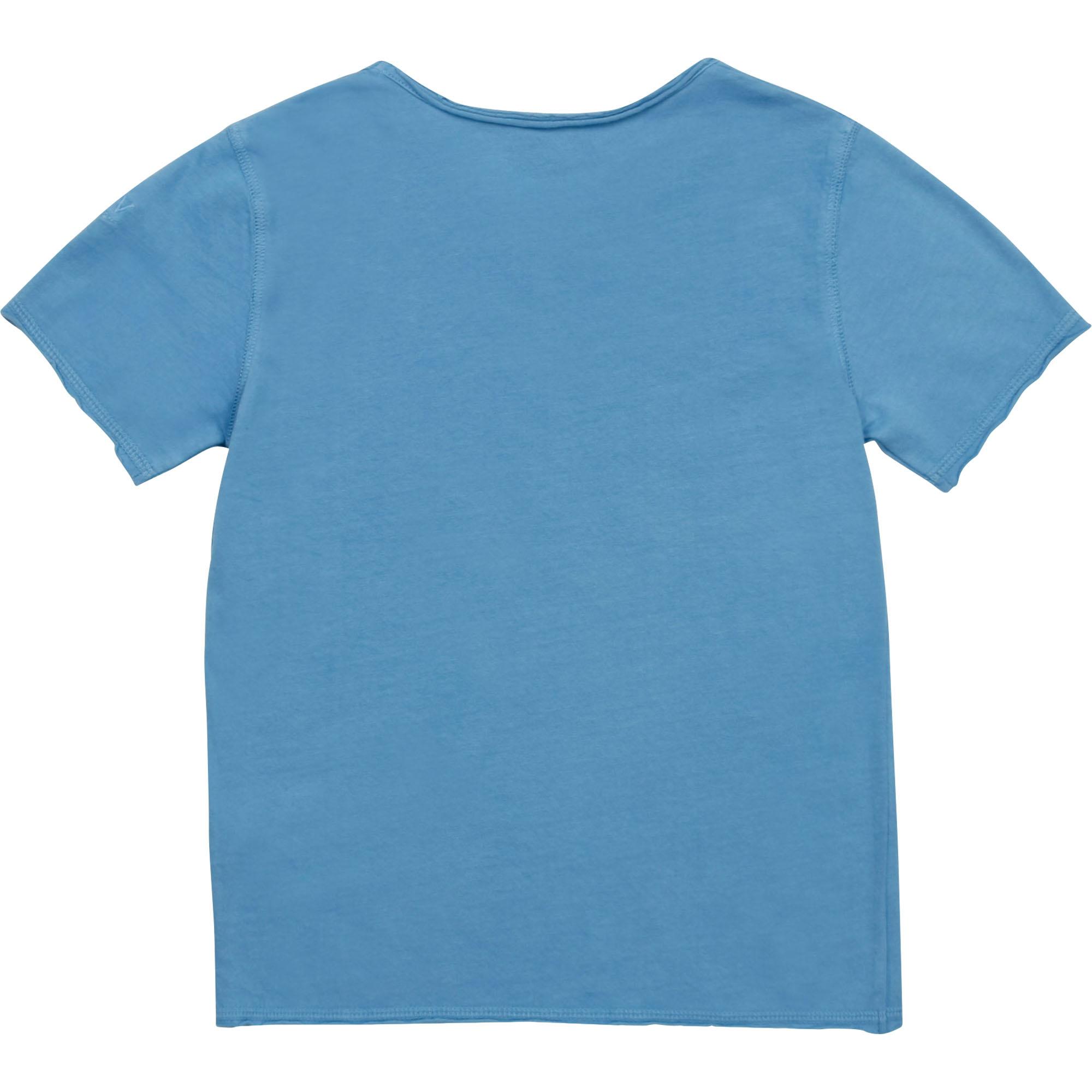 ZADIG&VOLTAIRE t-shirt col tunisien imprimé-2