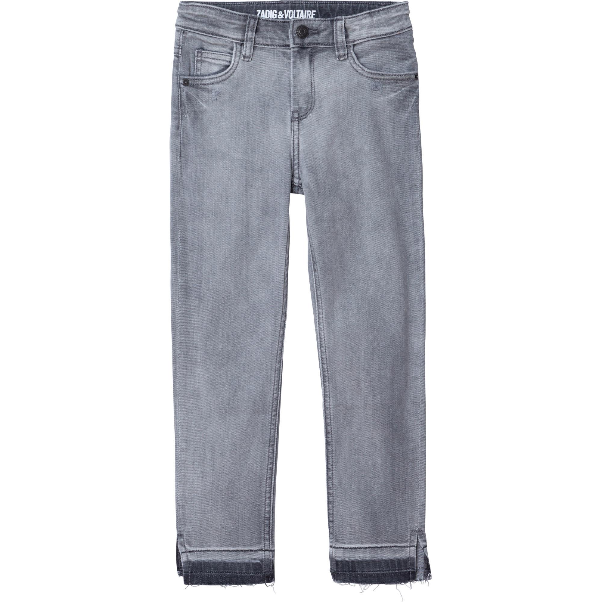 ZADIG&VOLTAIRE jean slim avec strass-1