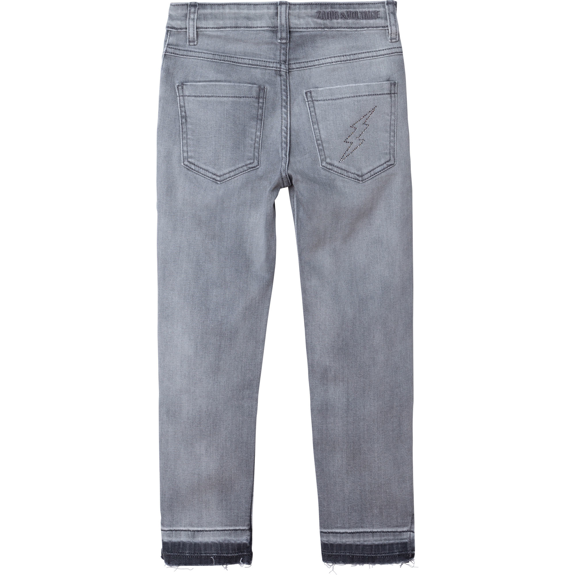 ZADIG&VOLTAIRE jean slim avec strass-2