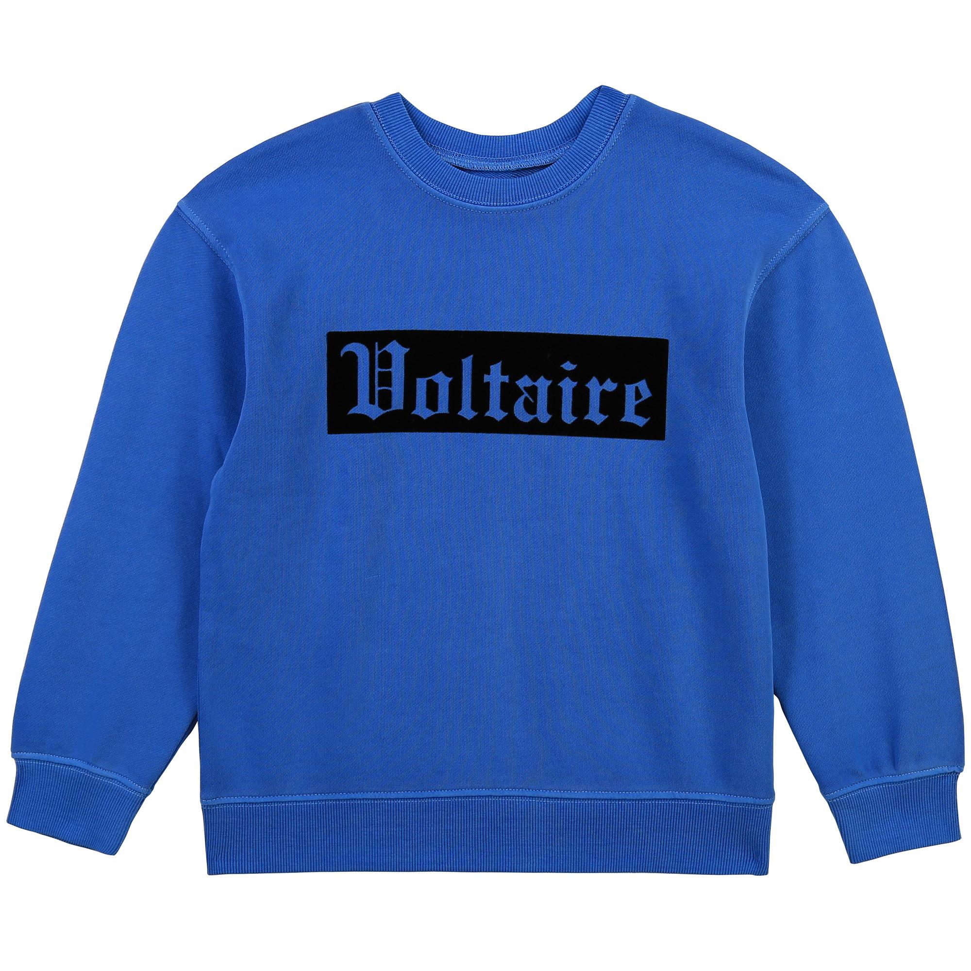 ZADIG&VOLTAIRE sweat-shirt en molleton coton-1