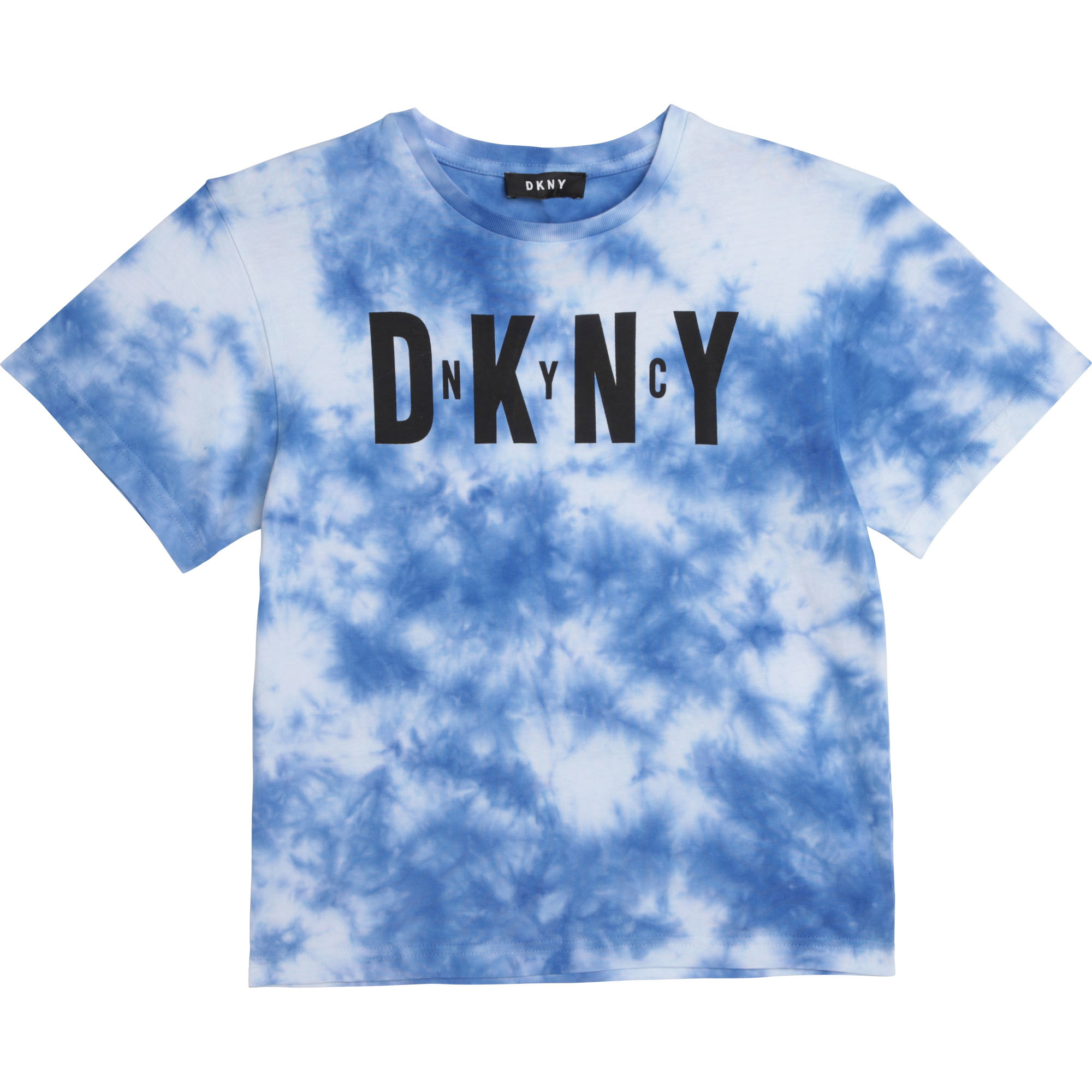 DKNY  t-shirt en coton tie and dye-1