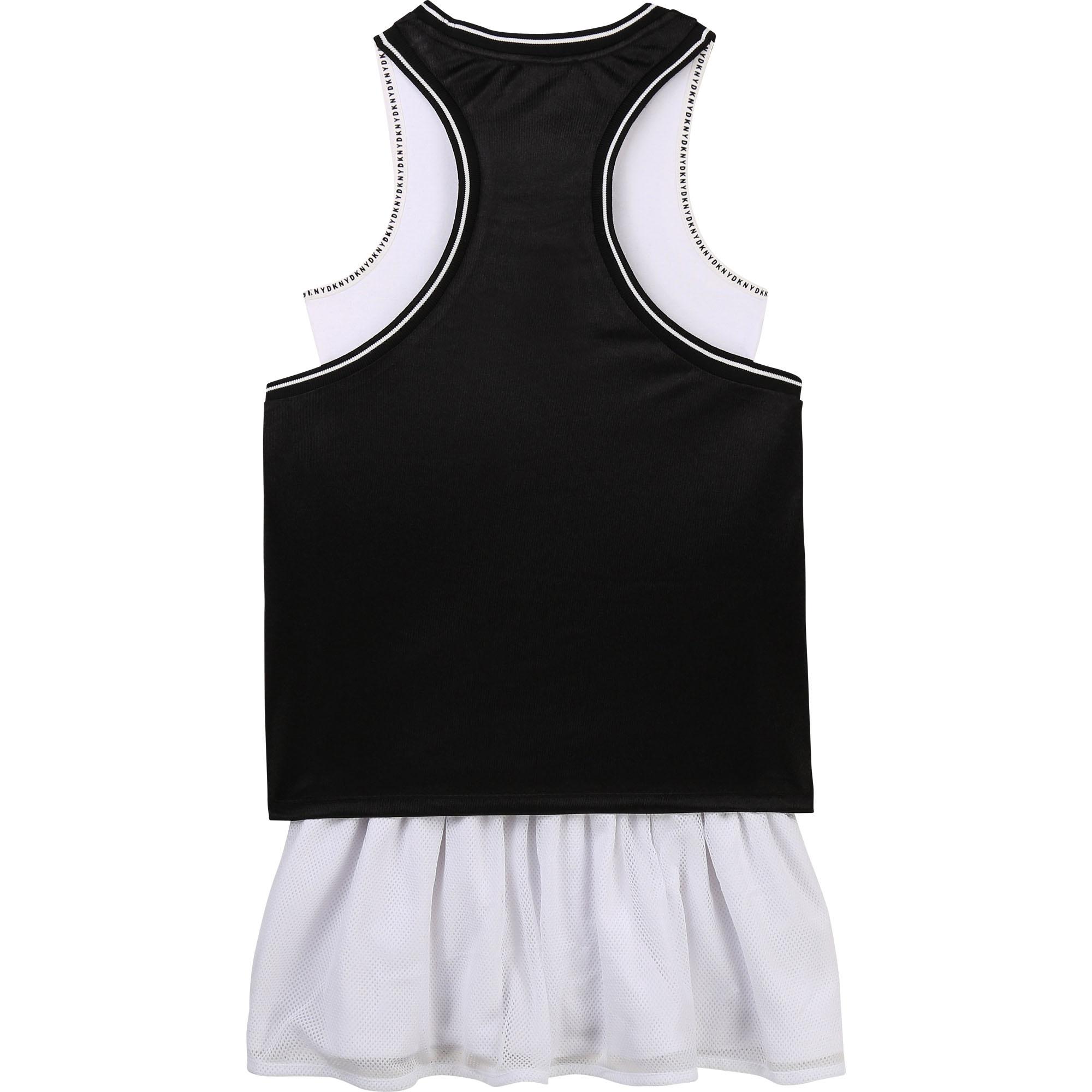DKNY robe 2 en 1 avec patch brodé-2